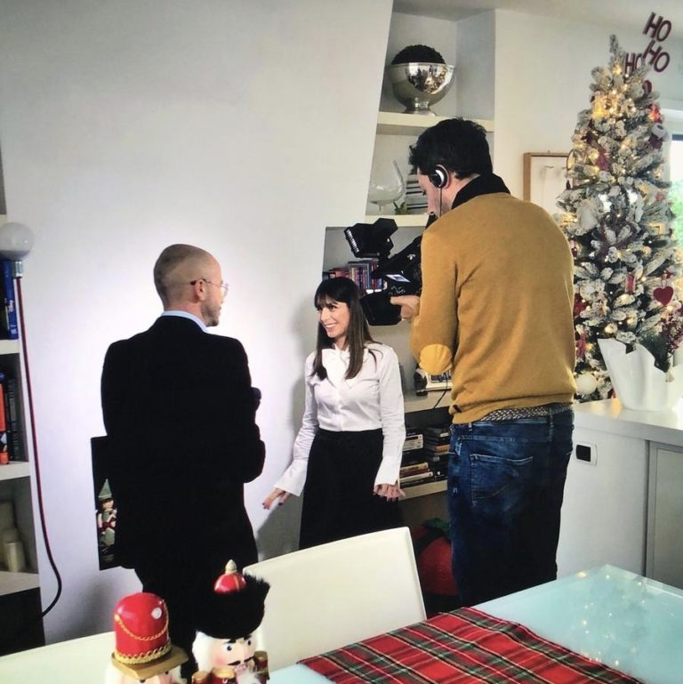 Tg4 interviews the Home Stylist Viviana Grunert for a Christmas with Style!