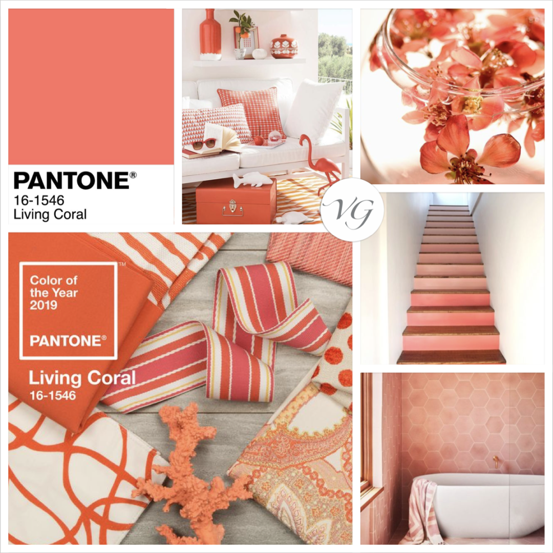 Living Coral: The Pantone Color of 2019