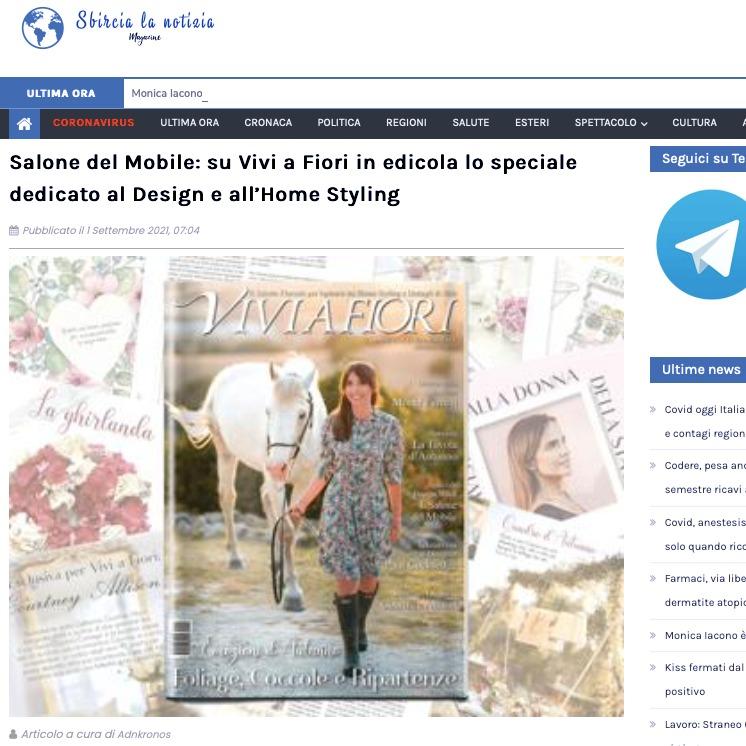 Viviana Grunert su SBIRCIA LA NOTIZIA-01.09.2021