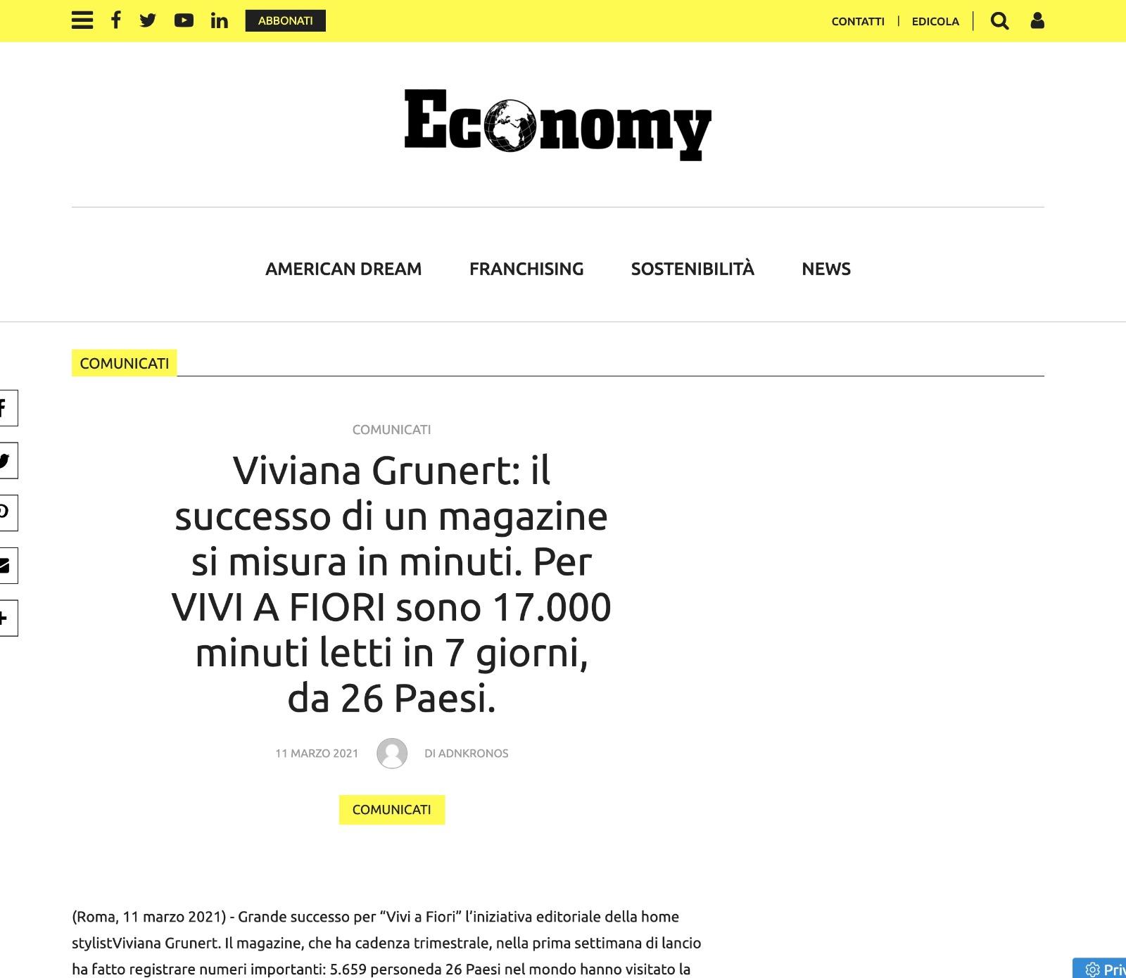 Viviana Grunert su ECONOMY-11.03.2021