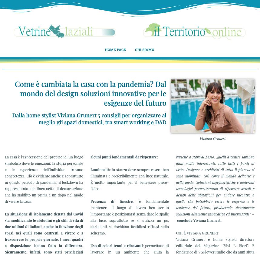 Viviana Grunert su VETRINELAZIALI-22.03.2021