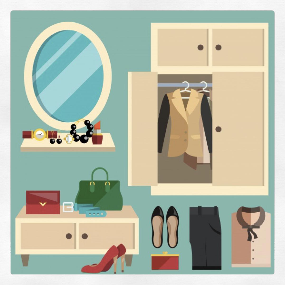 Organizzare il proprio armadio