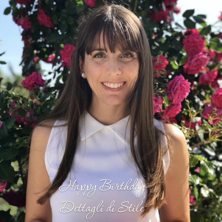 Happy Birthday 'Dettagli di Stile', un anno di blog, un anno insieme a voi!