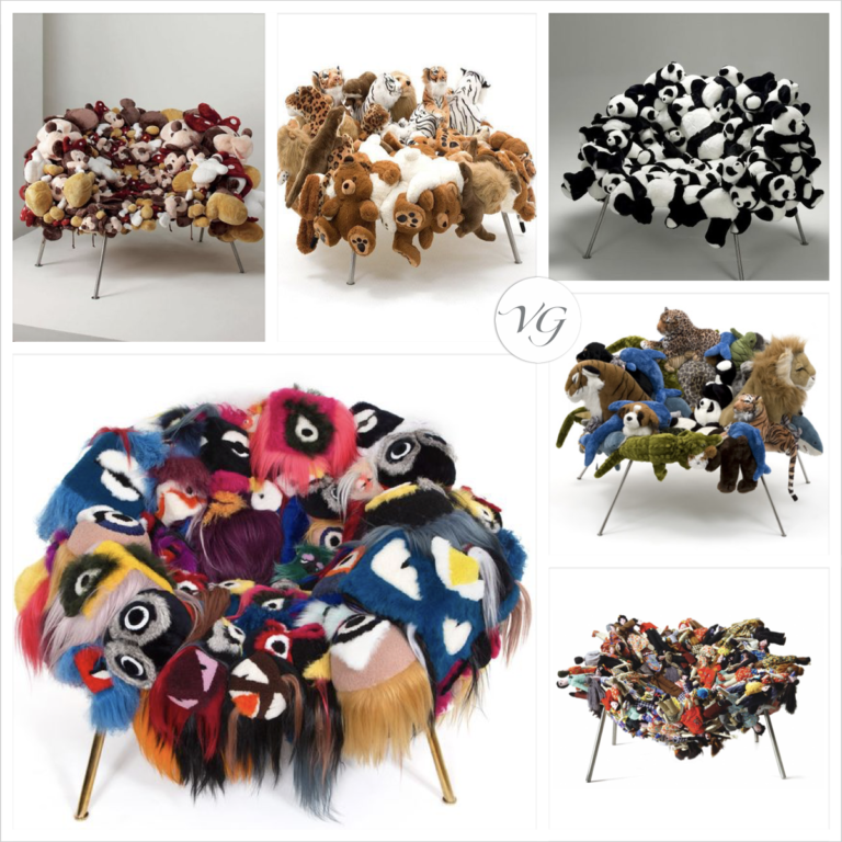 Plush Armchairs or Works of Art? It's a very thin line…
