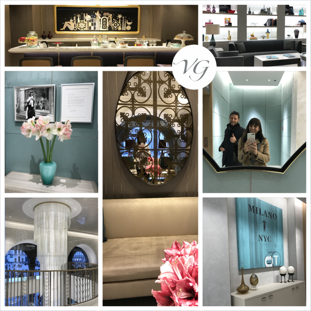 the new tiffany boutique in piazza duomo in milan is waiting to be discovered!