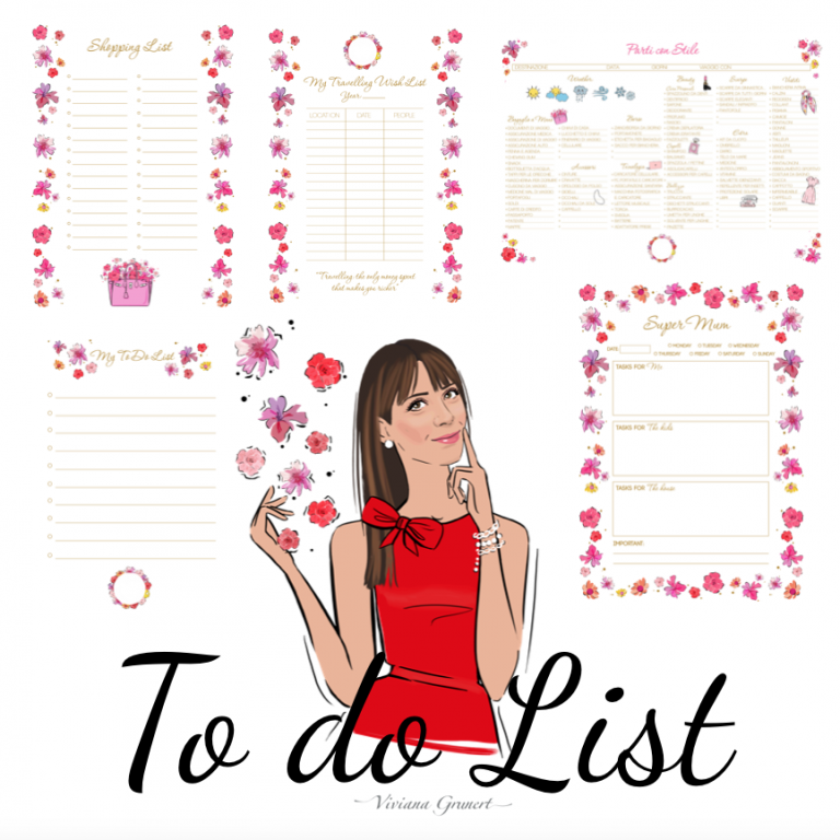 Let's also start to the Customized To Do List!